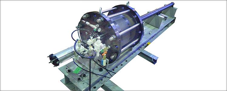 空圧式超高速衝突試験装置受託試験