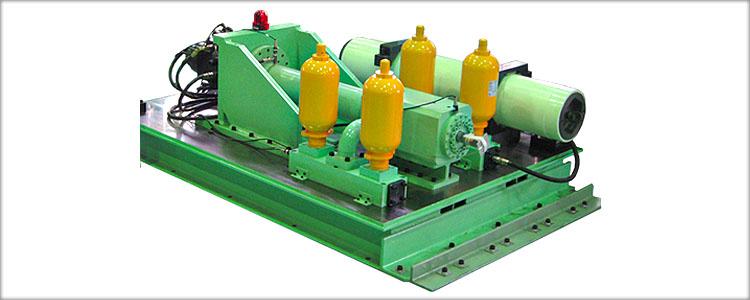 油圧式衝突試験装置受託試験