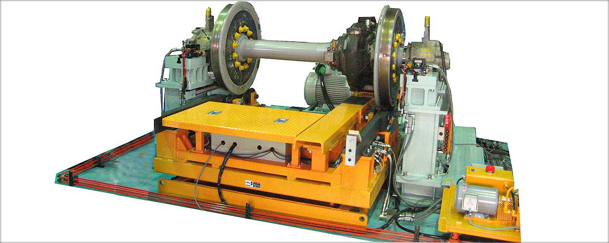 輪軸高速回転試験機