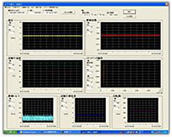 計測装置 画面例